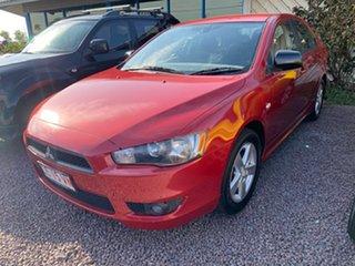 2008 Mitsubishi Lancer CJ MY09 VR Sportback Red 5 Speed Manual Hatchback.