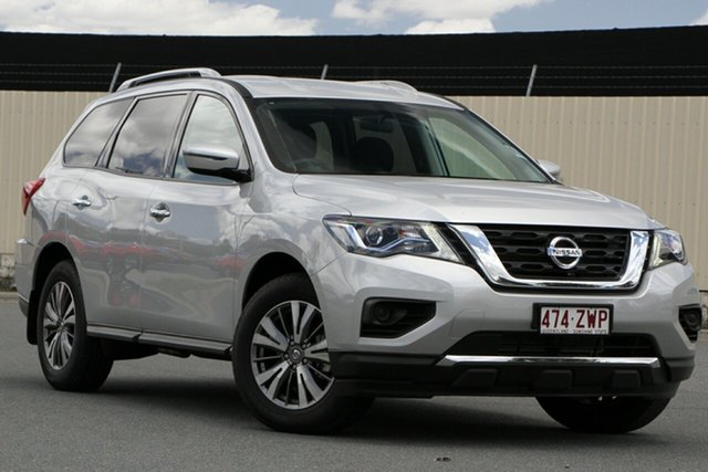 Demo Nissan Pathfinder R52 Series III MY19 ST X-tronic 2WD Bundamba, 2019 Nissan Pathfinder R52 Series III MY19 ST X-tronic 2WD Brilliant Silver 1 Speed