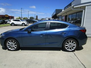 2018 Mazda 3 BN5238 SP25 SKYACTIV-Drive Blue 6 Speed Sports Automatic Sedan.