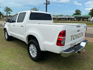 2012 Toyota Hilux KUN26R MY12 SR5 Double Cab White 5 Speed Manual Utility
