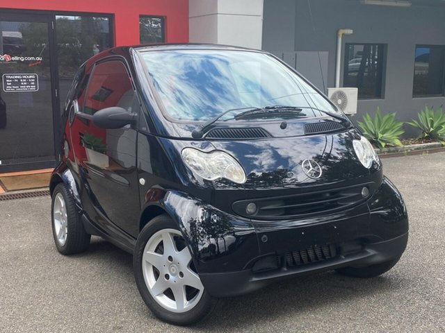 Used Smart ForTwo C450 Pulse Ashmore, 2005 Smart ForTwo C450 Pulse Black 6 Speed Sports Automatic Coupe