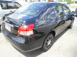 2007 Toyota Yaris NCP93R YRX Black 5 Speed Manual Sedan