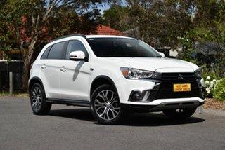2018 Mitsubishi ASX XC MY18 LS White 6 Speed Sports Automatic Wagon.