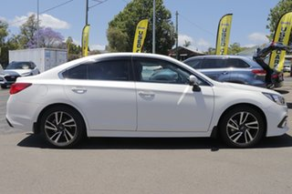 2018 Subaru Liberty B6 MY18 2.5i CVT AWD Premium White 6 Speed Constant Variable Sedan.