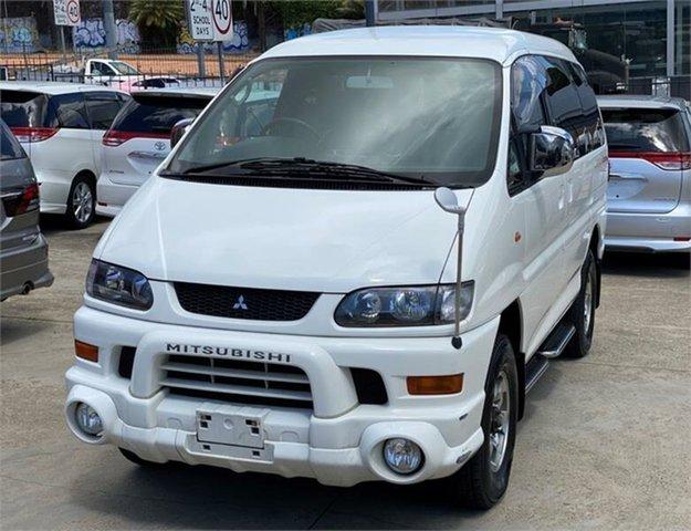 Used Mitsubishi Delica Leichhardt, 2004 Mitsubishi Delica PD6W Spacegear White Automatic Van Wagon