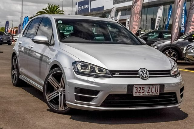 Used Volkswagen Golf VII MY17 R DSG 4MOTION Aspley, 2017 Volkswagen Golf VII MY17 R DSG 4MOTION Silver 6 Speed Sports Automatic Dual Clutch Hatchback