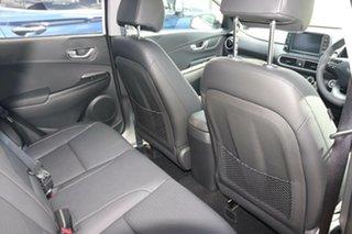 2020 Hyundai Kona OS.3 MY20 Elite D-CT AWD Chalk White 7 Speed Sports Automatic Dual Clutch Wagon