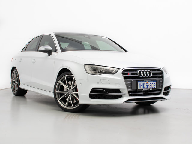 Used Audi S3 8V MY15 2.0 TFSI Quattro, 2015 Audi S3 8V MY15 2.0 TFSI Quattro White 6 Speed Direct Shift Sedan