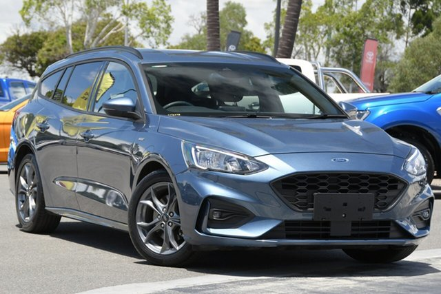 Used Ford Focus SA 2019.75MY ST-Line North Lakes, 2019 Ford Focus SA 2019.75MY ST-Line Blue 8 Speed Automatic Wagon