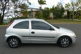 2004 Holden Barina XC MY05 Silver 4 Speed Automatic Hatchback.