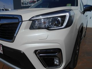 2019 Subaru Forester S5 MY20 Hybrid S CVT AWD Crystal White 7 Speed Constant Variable Wagon Hybrid