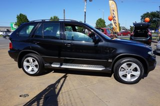 2006 BMW X5 E53 MY06 Steptronic Black Sapphire 6 Speed Sports Automatic Wagon
