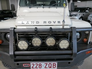 2010 Land Rover Defender 130 11MY Standard White 6 Speed Manual Cab Chassis