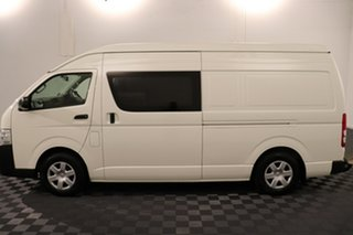 2015 Toyota HiAce KDH221R High Roof Super LWB French Vanilla 4 speed Automatic Van