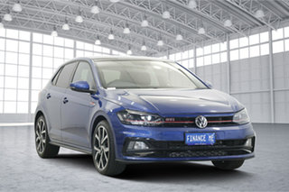 2019 Volkswagen Polo AW MY20 GTI DSG Reef Blue Metallic 6 Speed Sports Automatic Dual Clutch.