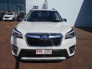 2019 Subaru Forester S5 MY20 Hybrid S CVT AWD Crystal White 7 Speed Constant Variable Wagon Hybrid.