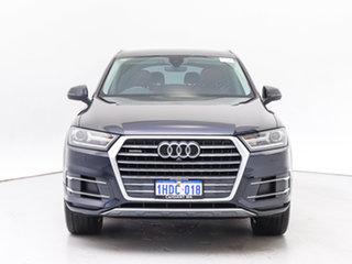 2017 Audi Q7 4M MY17 3.0 TDI Quattro Blue 8 Speed Automatic Tiptronic Wagon.