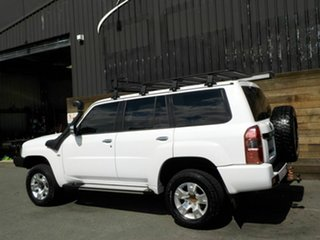 2011 Nissan Patrol GU 7 MY10 ST White 4 Speed Automatic Wagon