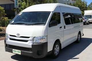 2014 Toyota HiAce KDH223R MY14 French Vanilla Automatic Bus.
