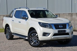 2020 Nissan Navara D23 S4 MY20 ST-X 4x2 White Diamond 7 Speed Sports Automatic Utility.