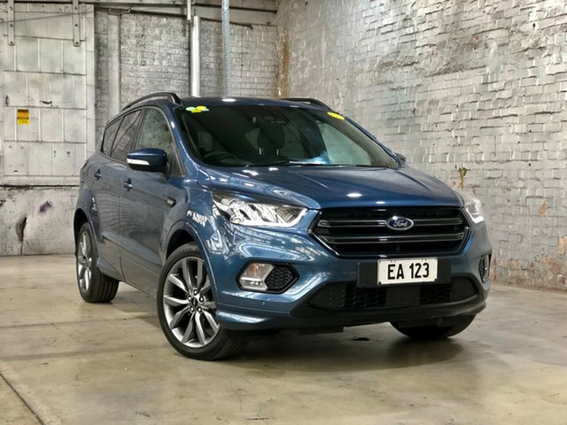 Used Ford Escape ZG 2019.25MY ST-Line Mile End South, 2019 Ford Escape ZG 2019.25MY ST-Line Blue 6 Speed Sports Automatic SUV