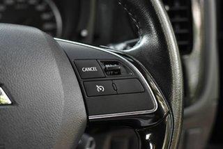 2015 Mitsubishi Outlander ZJ MY14.5 LS 2WD Black 6 Speed Constant Variable Wagon