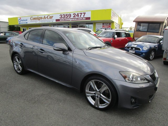 Used Lexus IS GSE21R MY13 IS350 X Kedron, 2013 Lexus IS GSE21R MY13 IS350 X Grey 6 Speed Sports Automatic Sedan