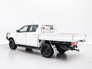 2016 Toyota Hilux GUN126R SR (4x4) White 6 Speed Automatic Cab Chassis