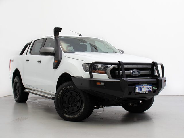 Used Ford Ranger PX MkII MY17 XLS 3.2 (4x4), 2017 Ford Ranger PX MkII MY17 XLS 3.2 (4x4) White 6 Speed Automatic Double Cab Pick Up