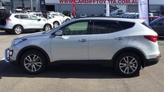 2013 Hyundai Santa Fe DM MY13 Elite Silver 6 Speed Sports Automatic Wagon