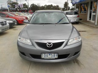 2005 Mazda 6 GY Classic Grey 4 Speed Auto Activematic Wagon.