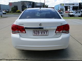 2011 Holden Cruze JH Series II MY11 CD White 6 Speed Sports Automatic Sedan.
