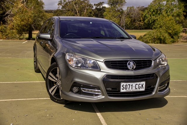Used Holden Commodore VF MY15 SV6 Sportwagon Storm St Marys, 2015 Holden Commodore VF MY15 SV6 Sportwagon Storm Grey 6 Speed Sports Automatic Wagon