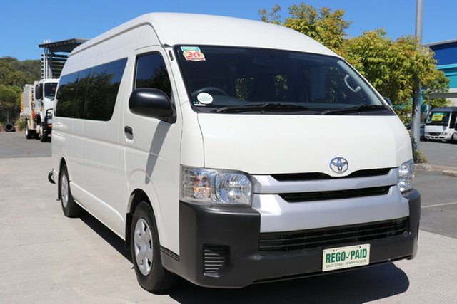 Used Toyota HiAce KDH223R MY14 Robina, 2014 Toyota HiAce KDH223R MY14 French Vanilla Automatic Bus