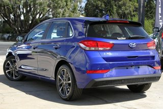 2020 Hyundai i30 PD.V4 MY21 Elite Intense Blue 6 Speed Sports Automatic Hatchback.