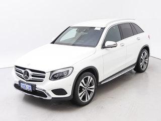 2017 Mercedes-Benz GLC250D 253 MY17 White 9 Speed Automatic Wagon