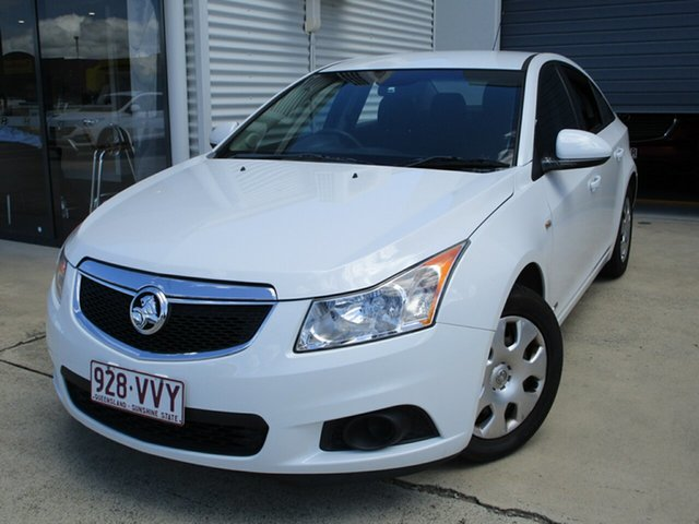 Used Holden Cruze JH Series II MY11 CD Caboolture, 2011 Holden Cruze JH Series II MY11 CD White 6 Speed Sports Automatic Sedan