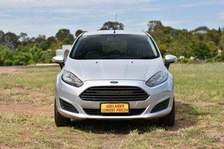 2013 Ford Fiesta WZ Ambiente Silver 5 Speed Manual Hatchback.