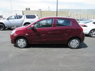 2017 Mitsubishi Mirage LA MY18 ES Red 1 Speed Constant Variable Hatchback