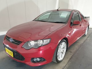 2013 Ford Falcon FG MkII Ute Super Cab Red 6 Speed Automatic Utility.