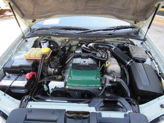 2003 Ford Falcon BA Futura Green 4 Speed Automatic Wagon