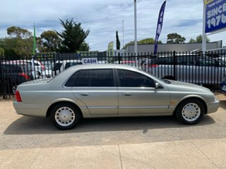 2001 Ford Fairlane AU II Ghia Silver 4 Speed Automatic Sedan.