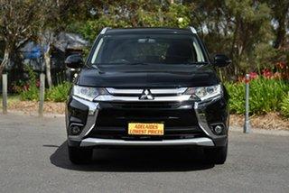 2015 Mitsubishi Outlander ZJ MY14.5 LS 2WD Black 6 Speed Constant Variable Wagon.