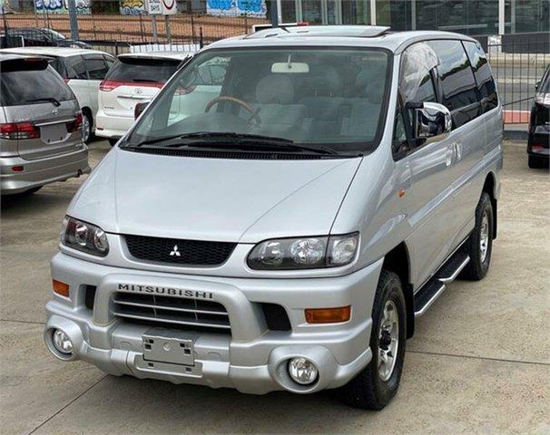 Used Mitsubishi Delica Leichhardt, 2002 Mitsubishi Delica PD6W Limited 20th Anniversary Silver Sports Automatic Van Wagon