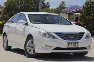 2012 Hyundai i45 YF MY11 Active White 6 Speed Sports Automatic Sedan.