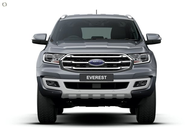 Demo Ford Everest UA II 2020.75MY Trend Ferntree Gully, 2020 Ford Everest UA II 2020.75MY Trend Grey 10 Speed Sports Automatic SUV