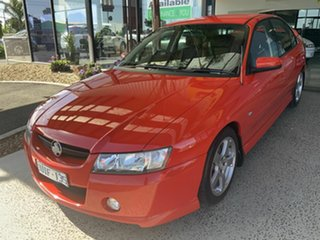 2006 Holden Commodore VZ 05 Upgrade SV6 Red 5 Speed Auto Active Select Sedan