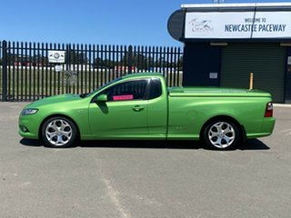 2009 Ford Falcon FG XR8 Ute Super Cab Green 6 Speed Sports Automatic Utility