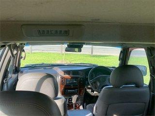 1999 Nissan Patrol GU TI Green 4 Speed Automatic Wagon