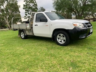 2010 Mazda BT-50 UNY0W4 DX White 5 Speed Manual Cab Chassis.